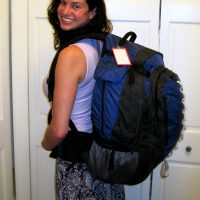 What do you pack for 8 months in one carry-on backpack?