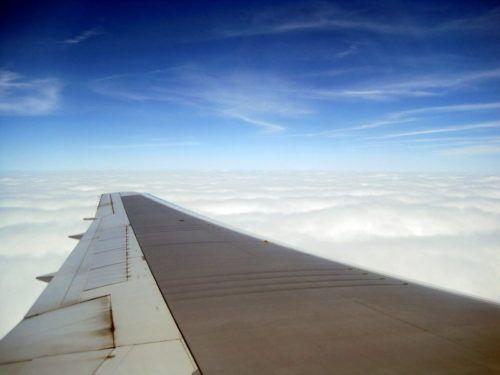 Woo hoo! Off we fly!