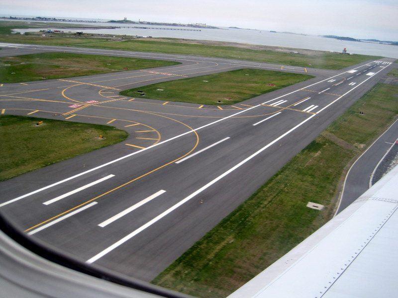 Landing in Logan