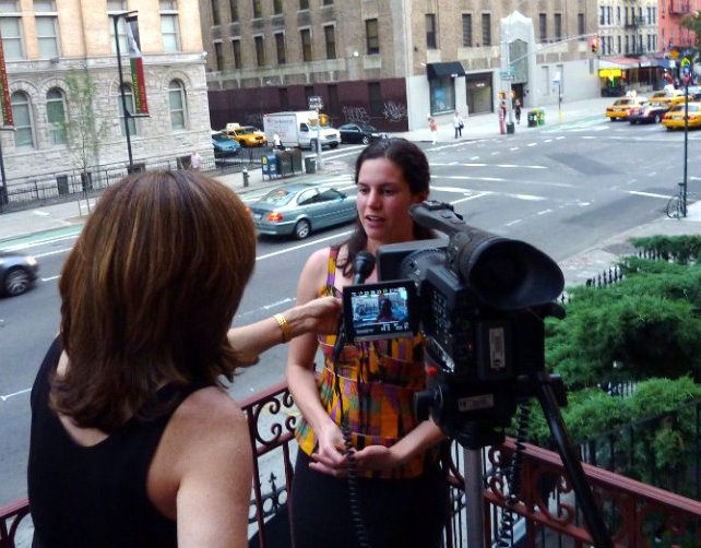 Interviewed in NYC