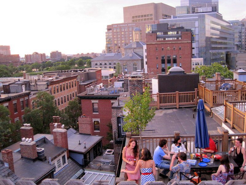 Roofdeck in Boston
