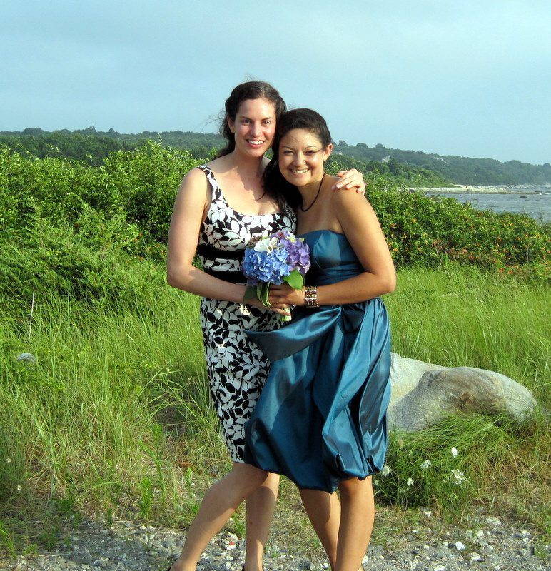 Me and Meg at the wedding
