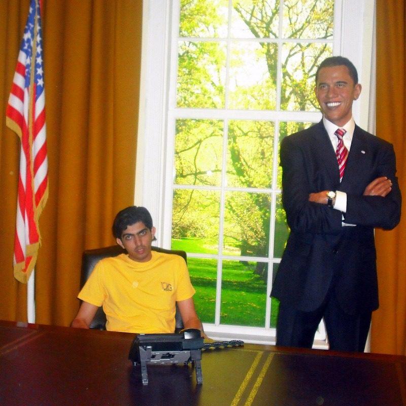 Faisal and Obama!