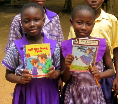 Ghana kids books
