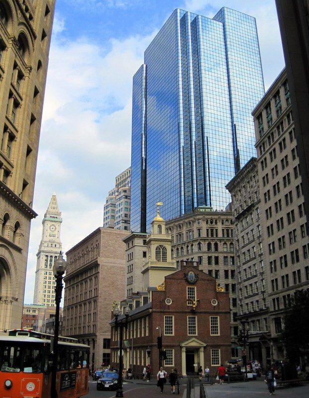 Exchange Place, Boston
