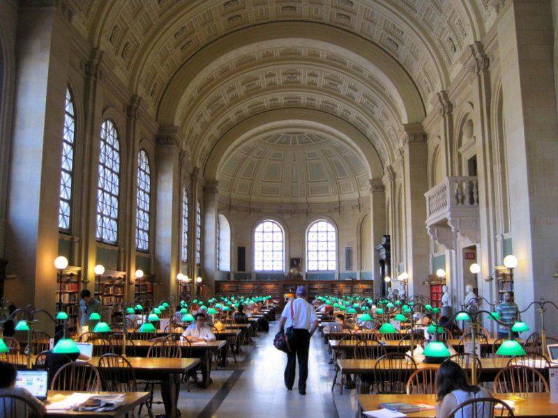 Boston Copley Library