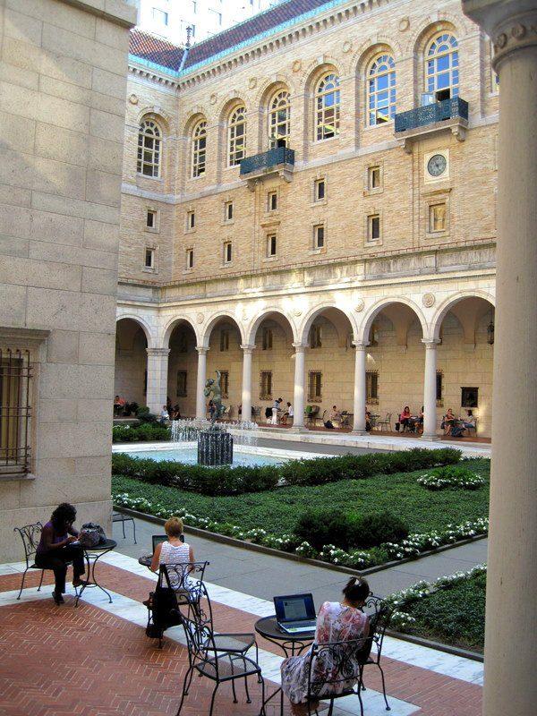 Copley Library Boston