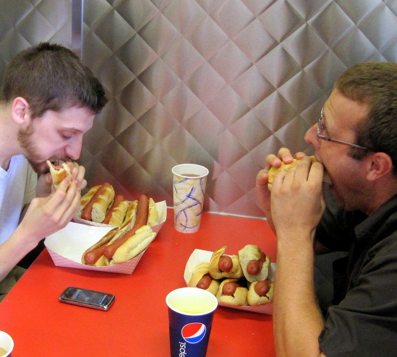 Hotdog contest