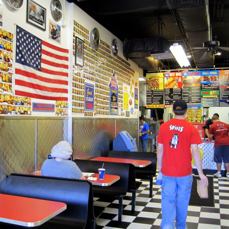 Spike's hot dogs