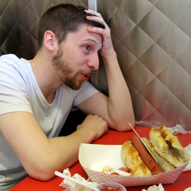 hot dog agony