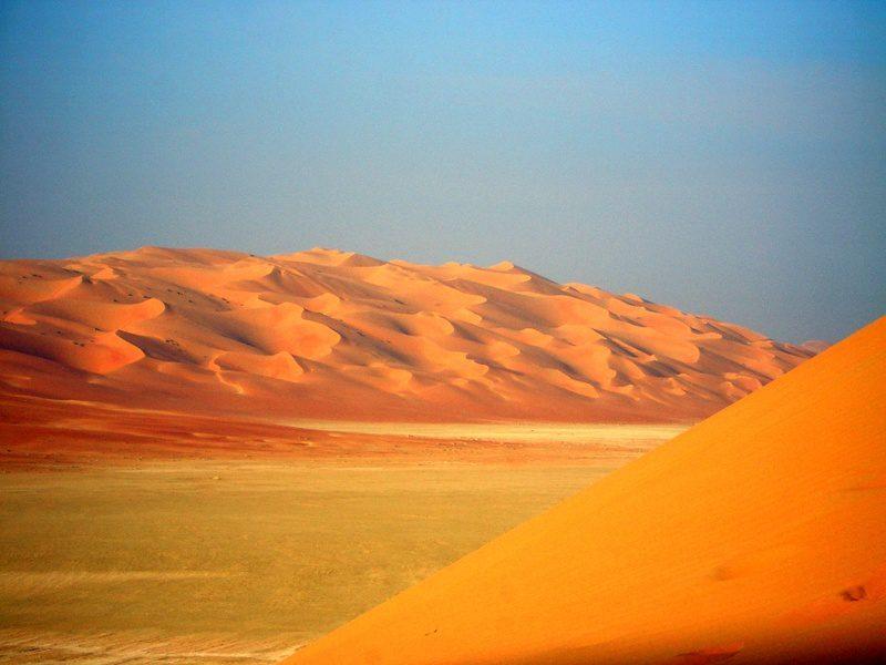 Saudi Arabian desert