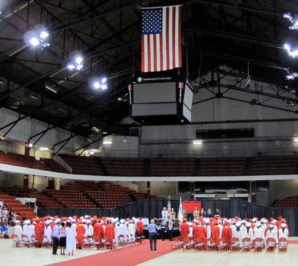 Graduation from CHS