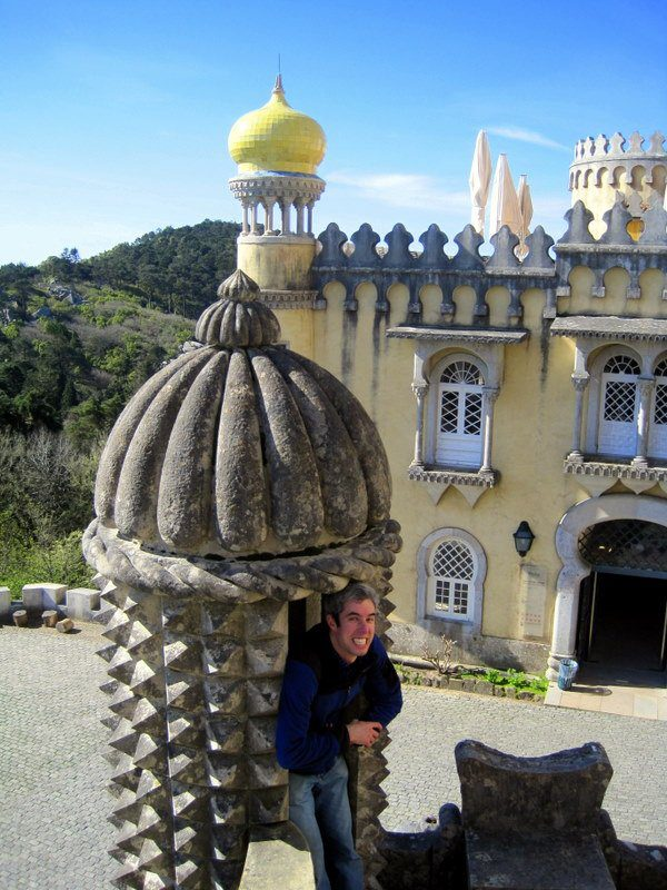 My brother goofing around in Sintra, Portugal!