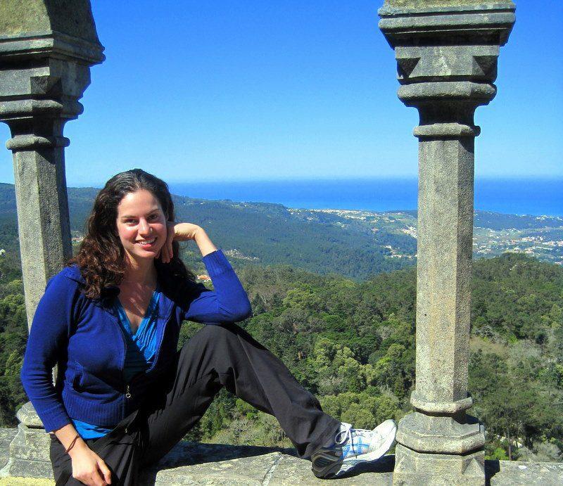 At a castle in Sintra, Portual, un-addicted to Mafia Wars!