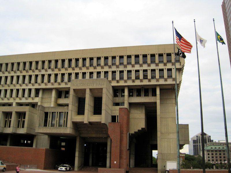 City Hall architecture Boston