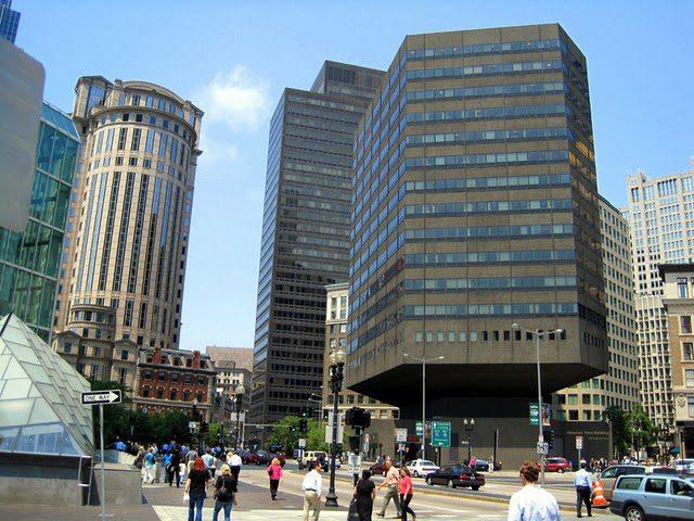 """Fiduciary Trust Building: The """"pregnant"""" building in Boston"""