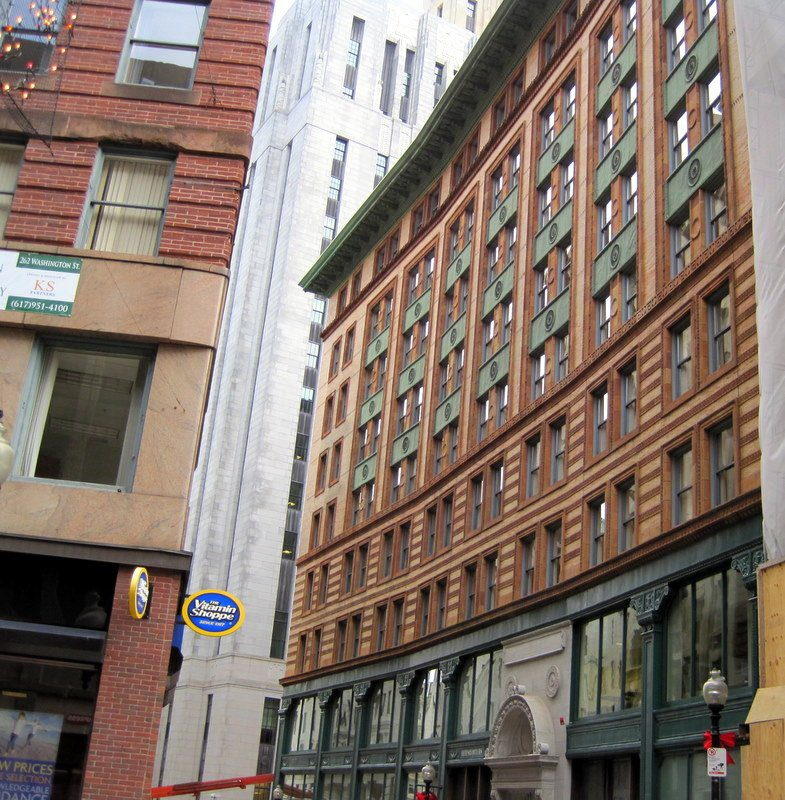 The Winthrop Building, Boston: a very early steel building!