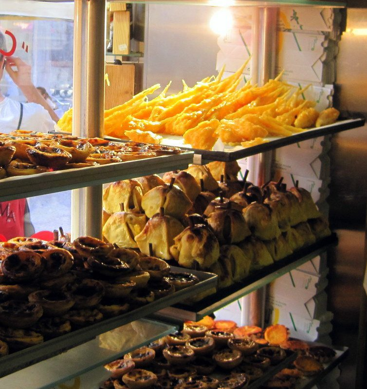 The spiky pastry in Portugal that tried to poke my bro!