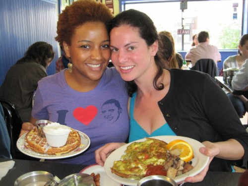 Mmm... excessive U.S. brunch in Philly!