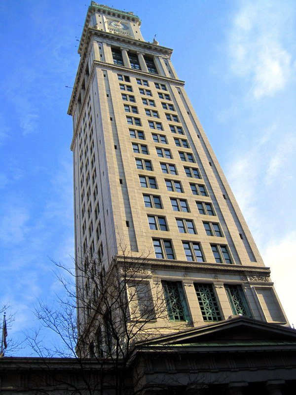 Custom House Tower, Boston.