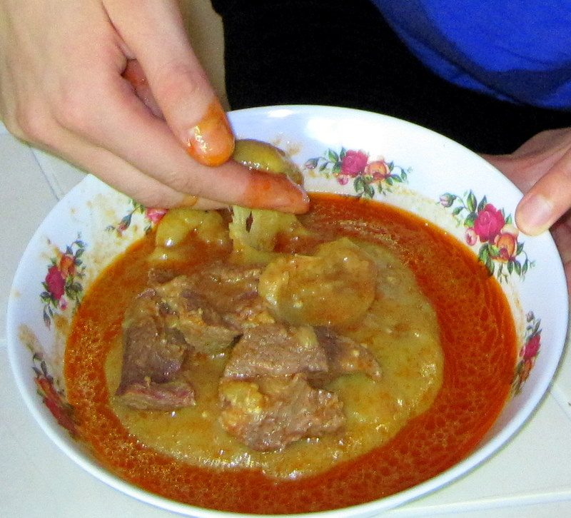 Fufu: #1 yummiest food of 2010 world travel!