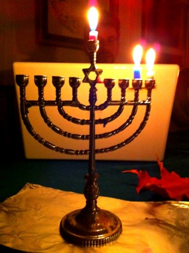 Happy third night of Hanukkah!