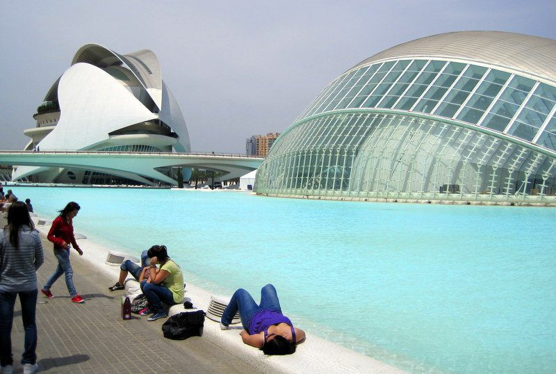#8: Valencia, Spain. Such amazing architecture!