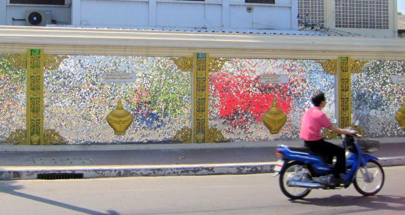 #1: Chiang Mai, Thailand.  The city has disco ball walls!