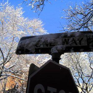 One Way: Snow Way.