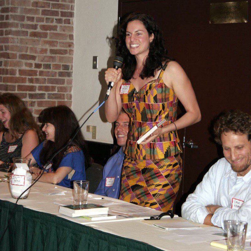 Me introducing the travel expert panel at MPG Boston!