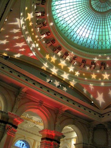 "The soaring dome of Philly's ""Please Touch Museum."""