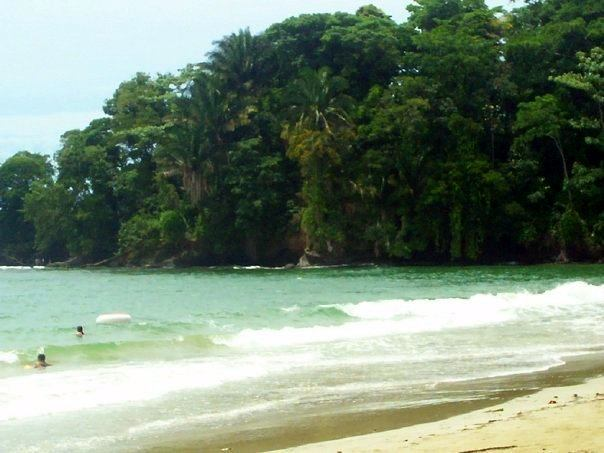 In Costa Rica we hit the beach after our TEFL course!