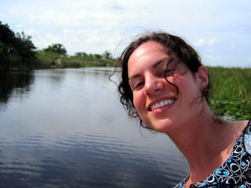 Me, loving the Everglades and not eaten by alligators.
