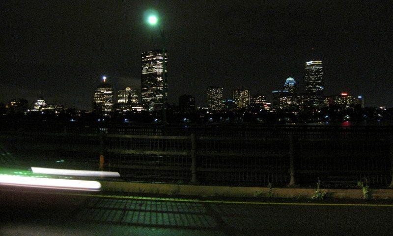 Oh beautiful Boston night, guide this traveler through China!