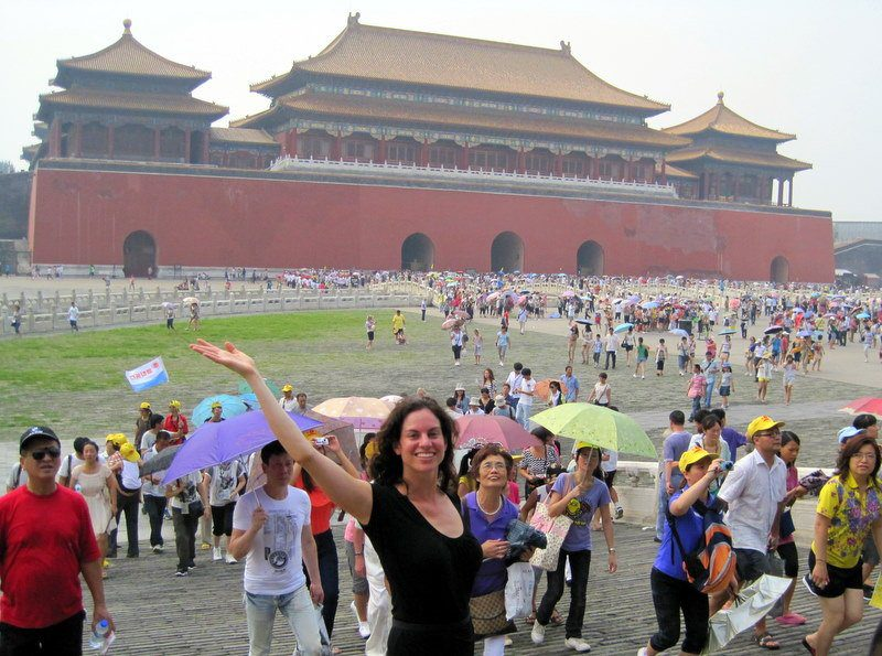 Back to loving the Forbidden City after our discussion!