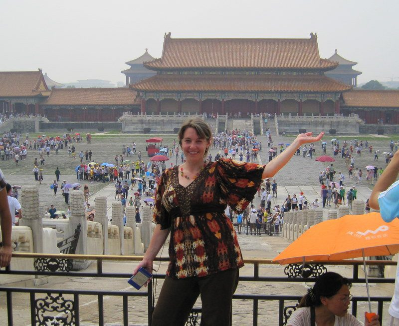 Gareth at the famed Forbidden City of Beijing, China.