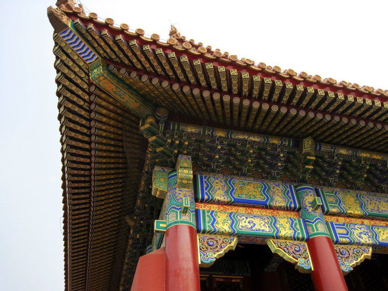 They did so well restoring the Forbidden City to its 1400s glory.