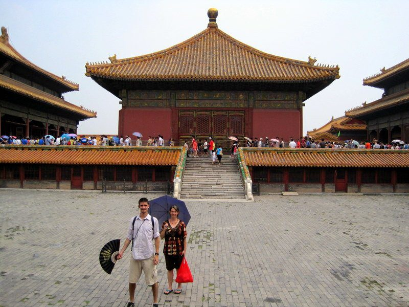 The Forbidden City has 980 buildings, all of them beautiful.