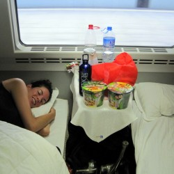 A 16 Hour Fast Night Train from Beijing to Chongqing