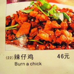 The Funniest Restaurant Food Menu of My China Travels
