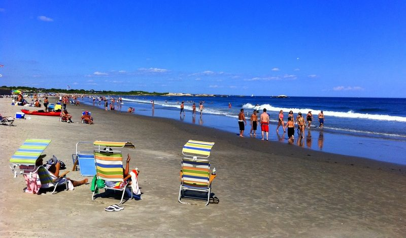 The day we swam at Narragansett Beach was the most perfect beach day imaginable.
