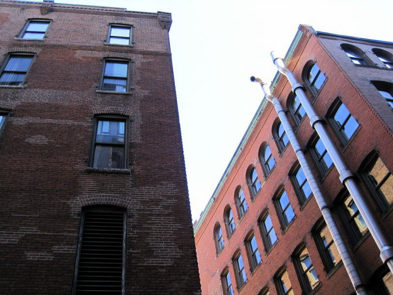 """The building from the climactic """"The Departed"""" scene."""