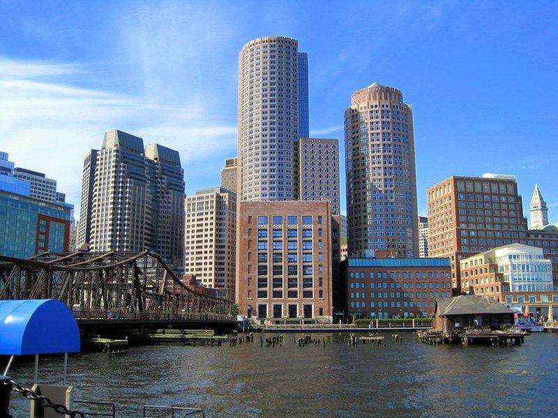 """Beautiful, diverse Boston. This view is in """"The Departed""""!"""