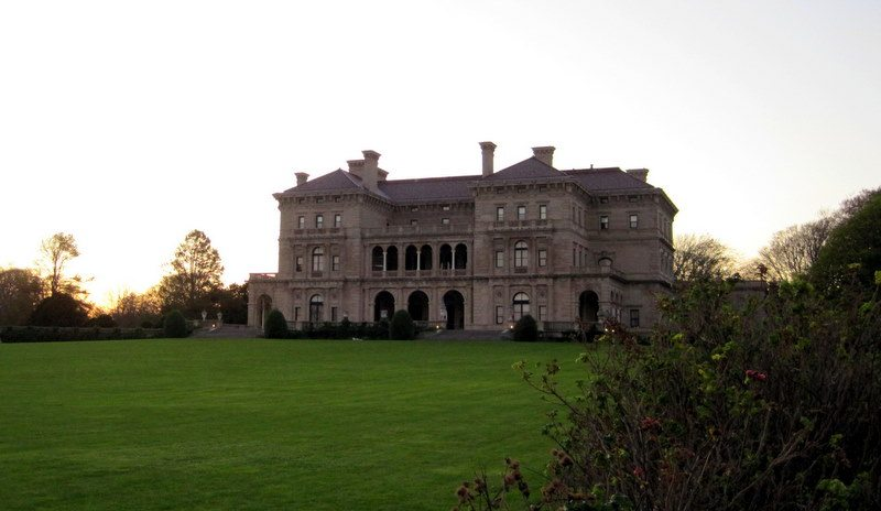 """The Breakers,"" the uber-famous Vanderbilt family ""summer home"" mansion."