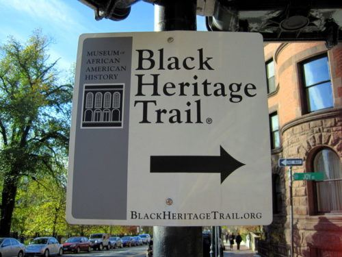 Boston has a rich, long African-American history!