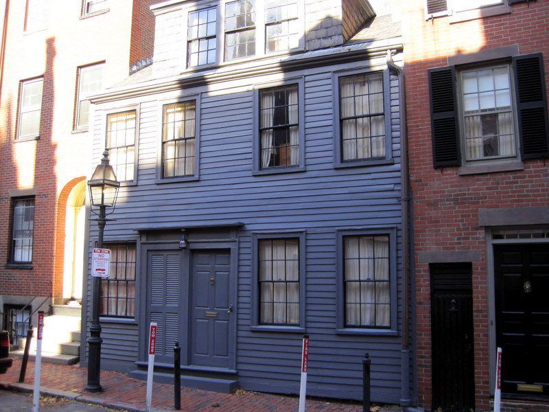 George Middleton's house on Beacon Hill