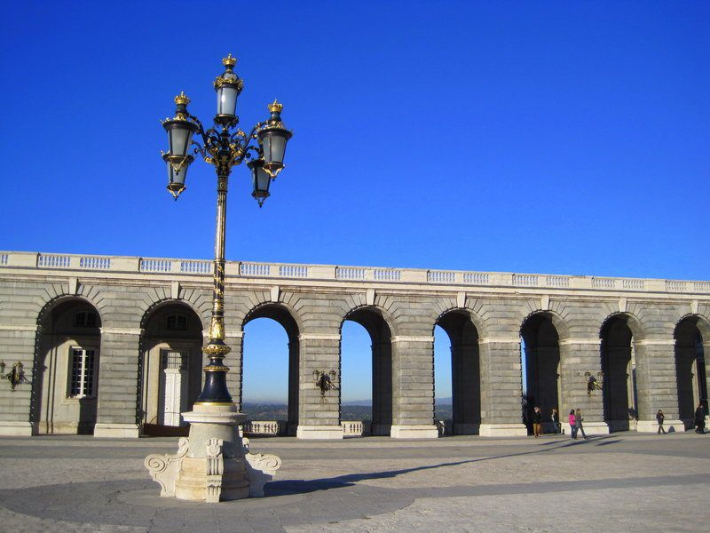 Spain's arches are like the folds of my wedding dress.