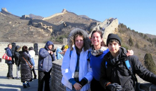 We climbed the great, great Great Wall of China!