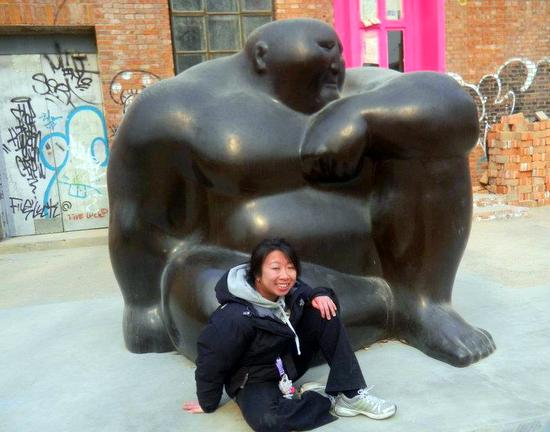 We LOVED Beijing's 798 Art Zone!