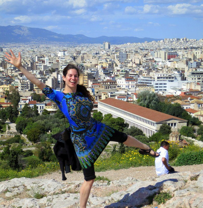 Beautiful Athens, Greece, seen from the Acropolis!